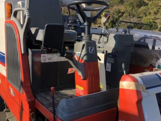YANMAR COMBINE HARVESTER GC451 COMING