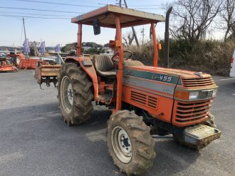 Kubota Farm Tractors L1-455 Coming