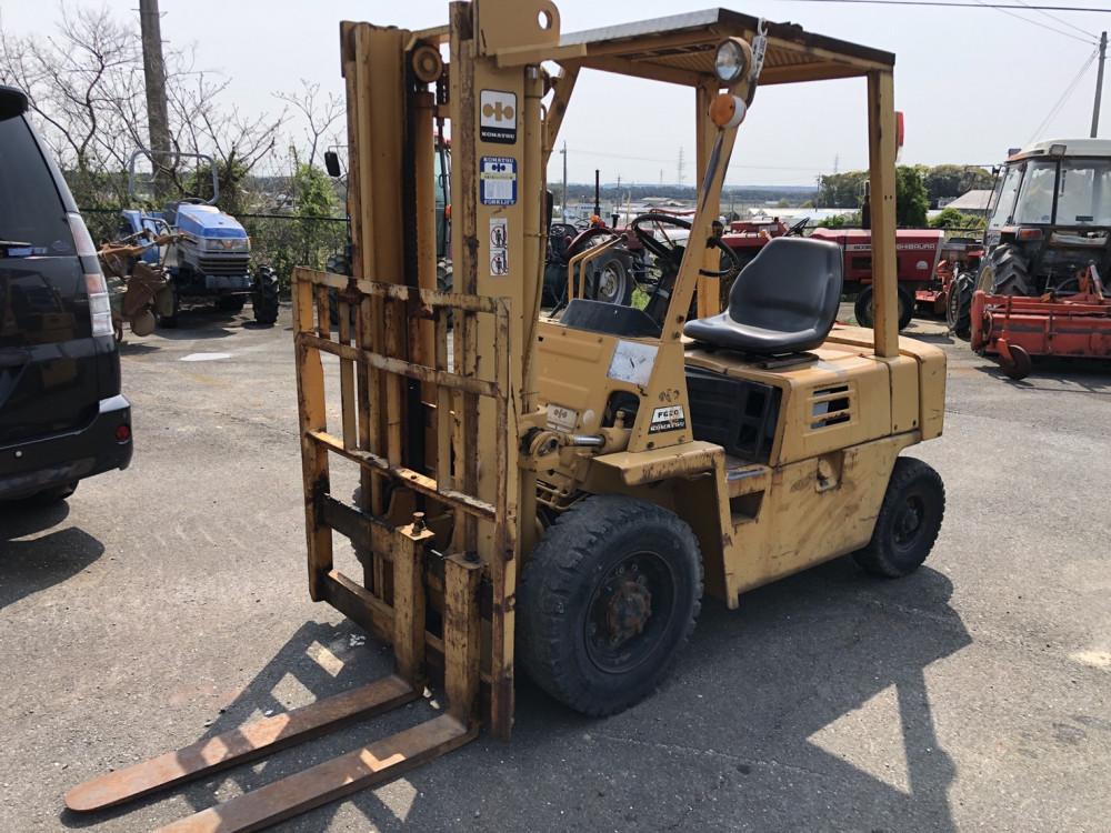 コマツ 2トンフォーク ガソリン車
